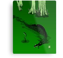 Swamp Dragon Metal Print