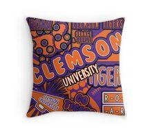 Clemson Throw Pillow