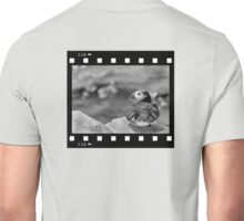 Puffin Sitting in the Frame, on the Farnes Unisex T-Shirt