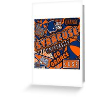 Syracuse Greeting Card