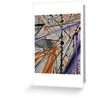 Abstract composition 76 Greeting Card