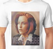 Agent Scully (w/ text) Unisex T-Shirt