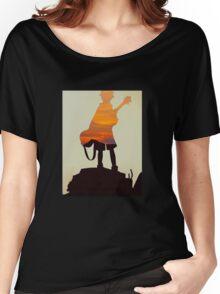 FLCL Sunset Women's Relaxed Fit T-Shirt