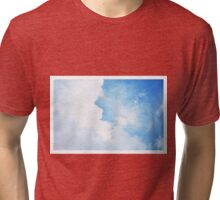 Beautiful Cloudy Sky Tri-blend T-Shirt