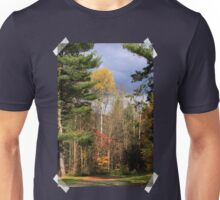 Sunlit Trees After The Rain Shower Unisex T-Shirt