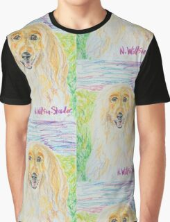 Blond Afghan Graphic T-Shirt