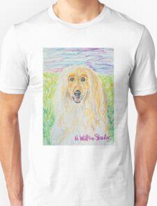 Blond Afghan Unisex T-Shirt
