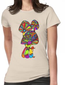 Shrooms & Gnome Womens Fitted T-Shirt