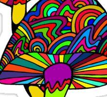 Shrooms & Gnome Sticker