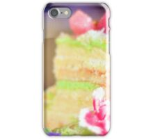 Let us eat cake iPhone Case/Skin