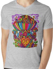 Mushroom House 5.0 Mens V-Neck T-Shirt