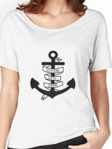 SWS Anchor Women's Relaxed Fit T-Shirt