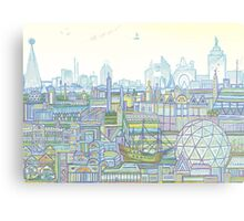 Megatropolis, Marina District Metal Print