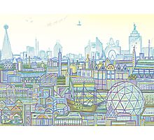 Megatropolis, Marina District Photographic Print