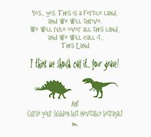curse your sudden but inevitable betrayal, green, firefly Unisex T-Shirt