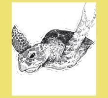 Sea Turtle One Piece - Short Sleeve