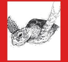 Sea Turtle One Piece - Long Sleeve