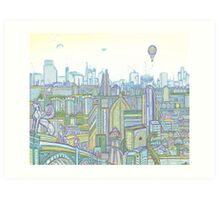 Megatropolis, Riddle District Art Print