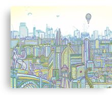 Megatropolis, Riddle District Canvas Print