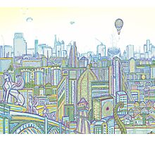Megatropolis, Riddle District Photographic Print