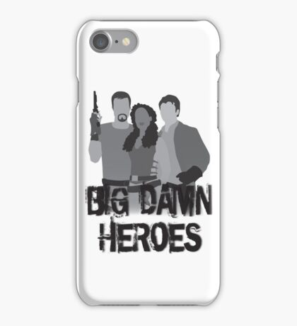 Big Damn Heroes - Firefly poster iPhone Case/Skin