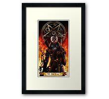 Percy- The devil Framed Print