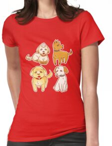Some Dang Dogs!! Womens Fitted T-Shirt