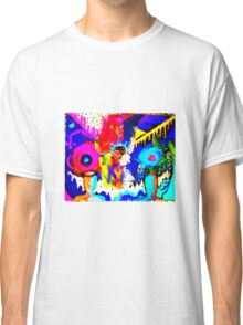 Psychedelic Rainbow Monster  Classic T-Shirt