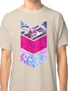 Polygonal Chevrons Classic T-Shirt