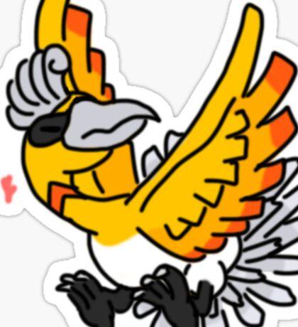 Shiny Ho-Oh Sticker