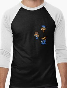 Final Fantasy Charachters Set2 Men's Baseball ¾ T-Shirt