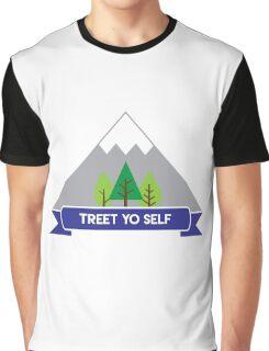Treet Yo Self Graphic T-Shirt