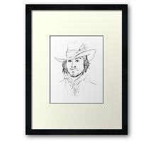 BBC's The Musketeers: Athos Portrait Framed Print