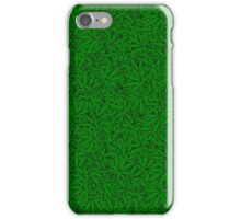 Weed Leaf Pattern iPhone Case/Skin