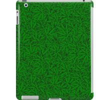 Weed Leaf Pattern iPad Case/Skin