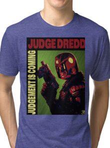 Judge Dredd Tri-blend T-Shirt
