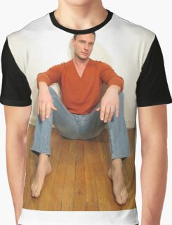 Male model Graphic T-Shirt