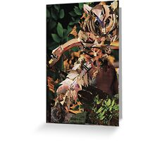 Squirrel Glider Collage Greeting Card
