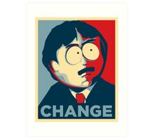 Randy Marsh Change Art Print