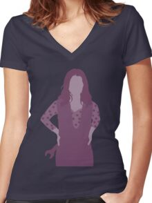 kaylee, firefly Women's Fitted V-Neck T-Shirt