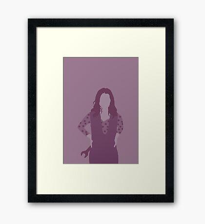 kaylee, firefly Framed Print