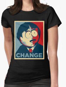 Randy Marsh Change Womens Fitted T-Shirt