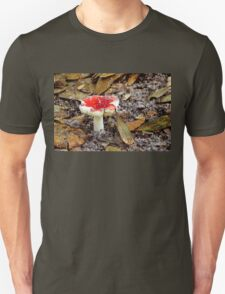 Mushroom ~ On a Sandy Path Unisex T-Shirt
