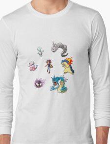 Heart Gold Team Long Sleeve T-Shirt