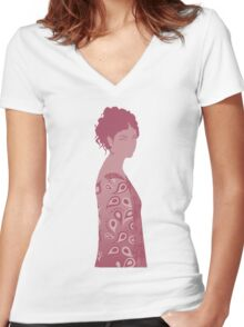inara, firefly Women's Fitted V-Neck T-Shirt