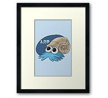 Pokemon #138: Omanyte Framed Print