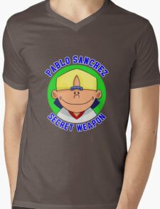 Pablo Sanchez: The Secret Weapon Mens V-Neck T-Shirt
