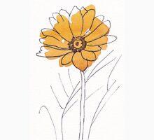Cheerful Gerbera daisy (Gerbera jamesonii) Womens Fitted T-Shirt