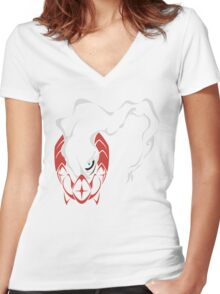 Darkrai Women's Fitted V-Neck T-Shirt