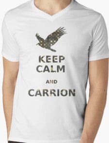 keep calm and carrion vulture grunge polka dot T-Shirt